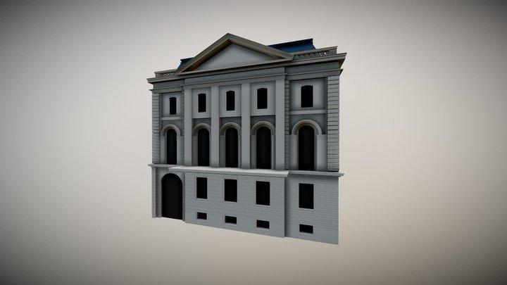 Old Mansion - Scholten Haus 3D Model