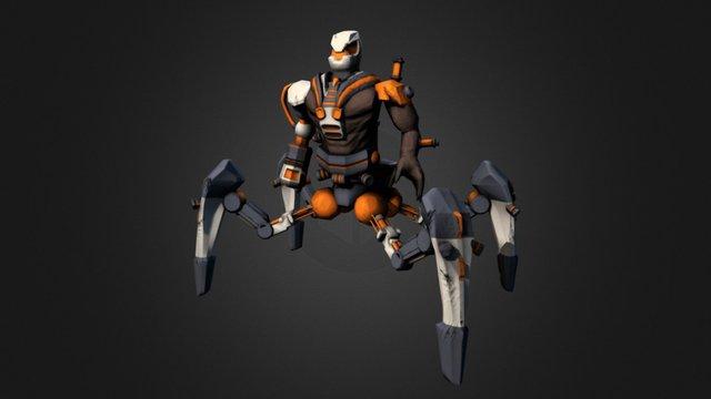 Final Boss 3D Model