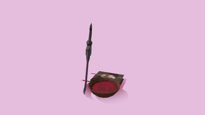 The Warlock's aresenal 3D Model