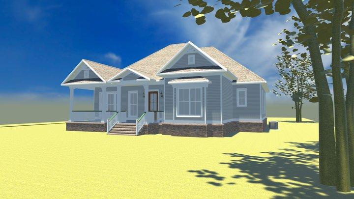 Belforest Cottage 3D Model