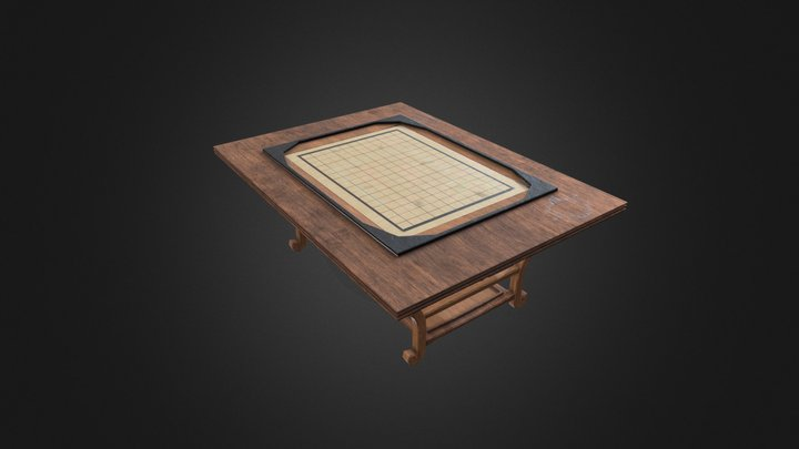 Game Table 3D Model
