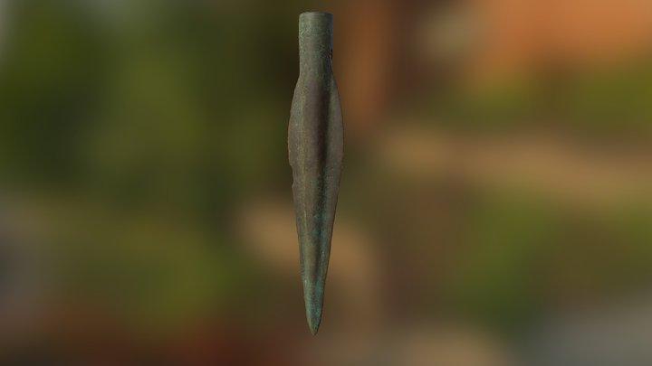 Spjutspets/Spear 3D Model