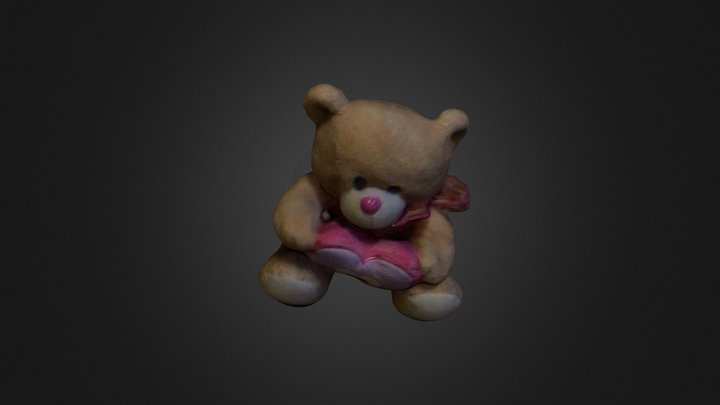 Heart-bear 3D Model