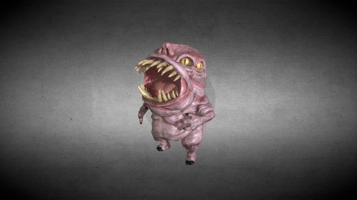 Litle Demon 3D Model