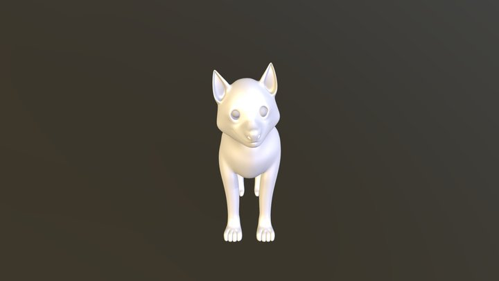 Husky puppy exercise.1 3D Model