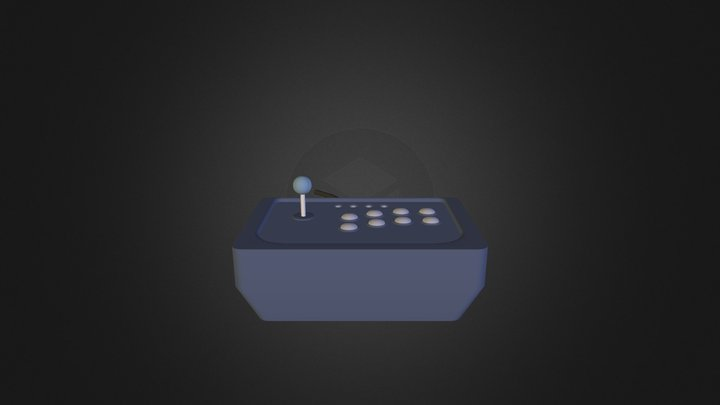 Gamepad 3D Model