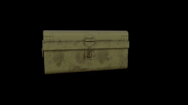 India old suitcase (Peti) 3D Model