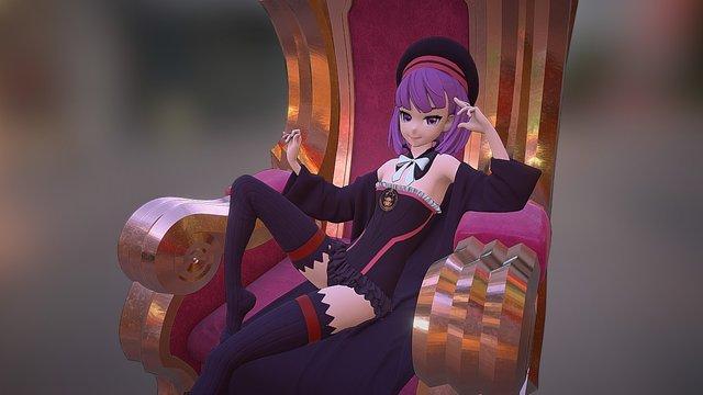 Helena - Fate/Grand Order 3D Model