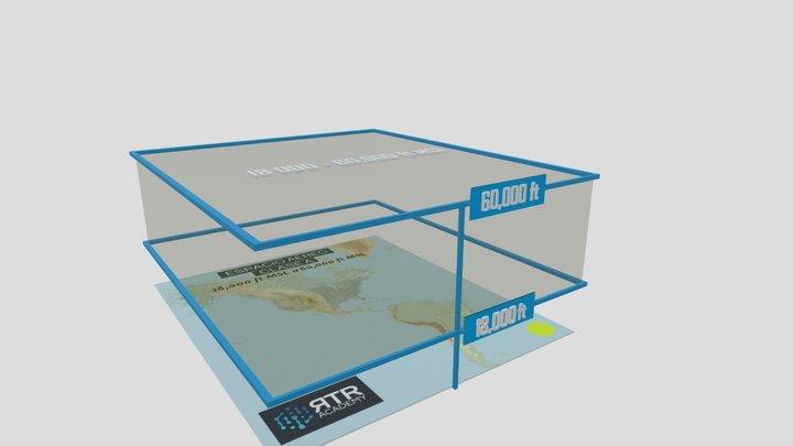 Espacio Aéreo Clase A - RTR Academy RPAs 3D Model