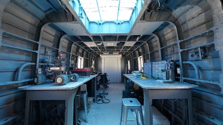 R.A.M. - Mars Desert Research Station 3D Model