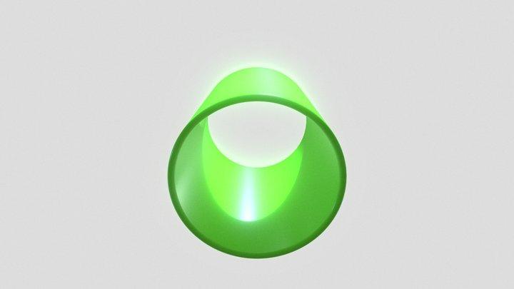 green tube test 3D Model