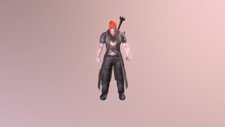 Ichigo (PW Seeker) 3D Model