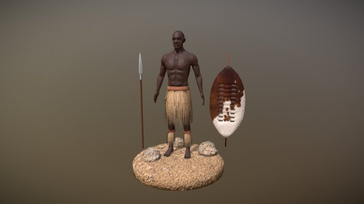 Zulu 3D Model