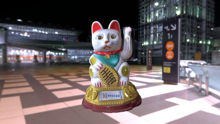 Katze //  Winkekatze  //  Cat  //  Maneki-neko 3D Model