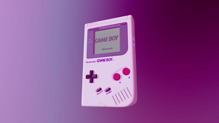 Nintendo Game Boy Classic 3D Model