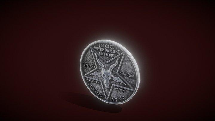 Lucifer Pentecostal Coin 3D Model