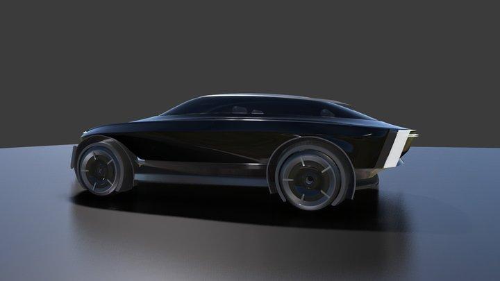 Asian Aesthet Luxury SUV 3D Model