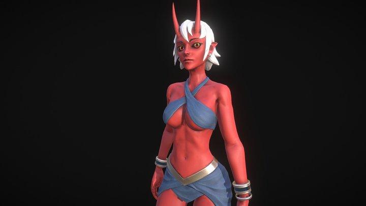 Jhala - animated 3D Model