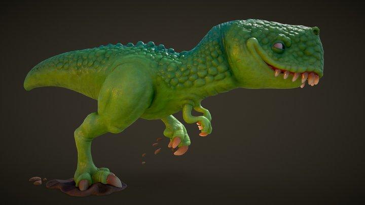 Rex 2.0 3D Model