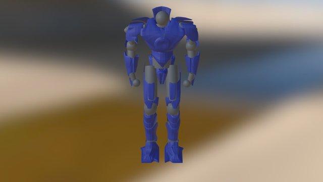 Gipsy Danger modificador 3D Model