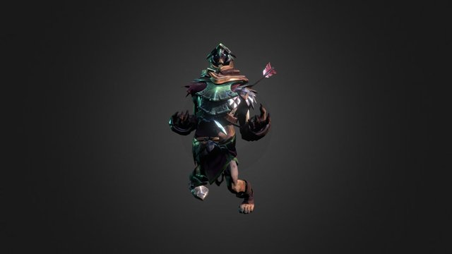 Dota 2 Workshop: Echoes of the Vanquished 3D Model