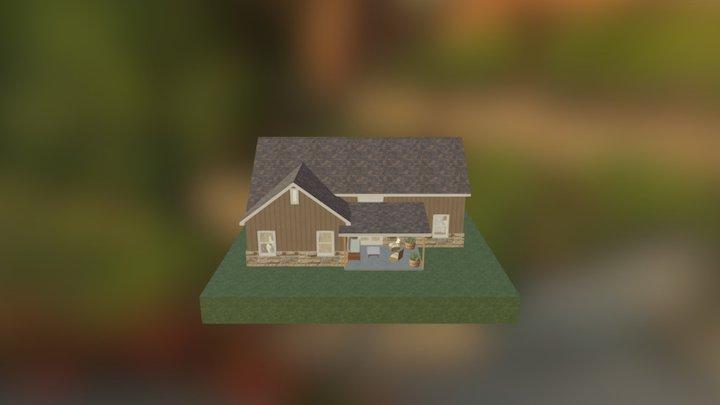 Krajewski Custom Home 3D Model