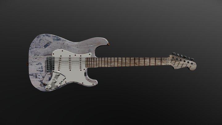 Stratocaster 3D Model