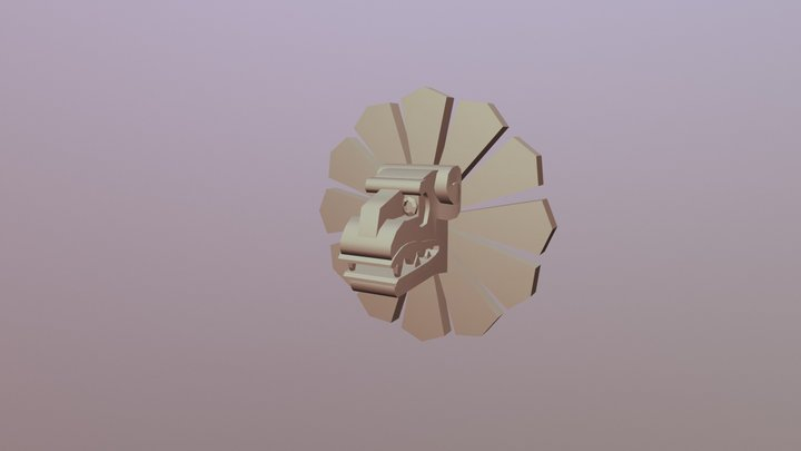 Trap Flamethrower 3D Model