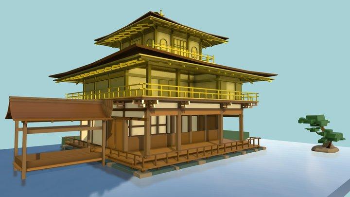 DP #2 HW 5_2 [Kinkaku-ji] 3D Model