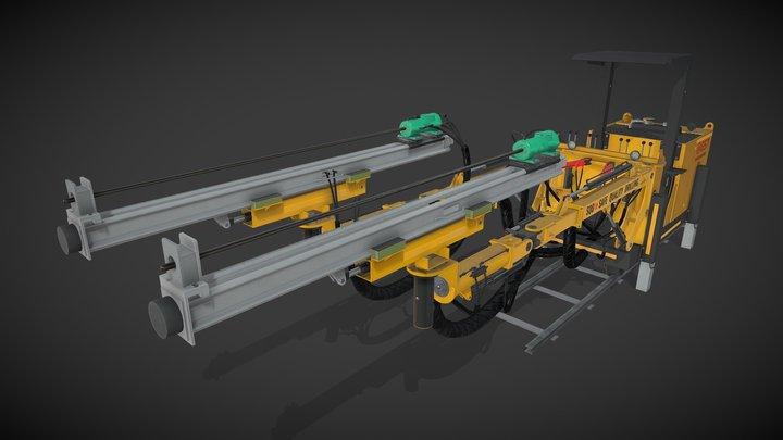 SQD Drill Rig 3D Model