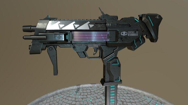 Overwatch - Sentinel Gun (Sombra) 3D Model