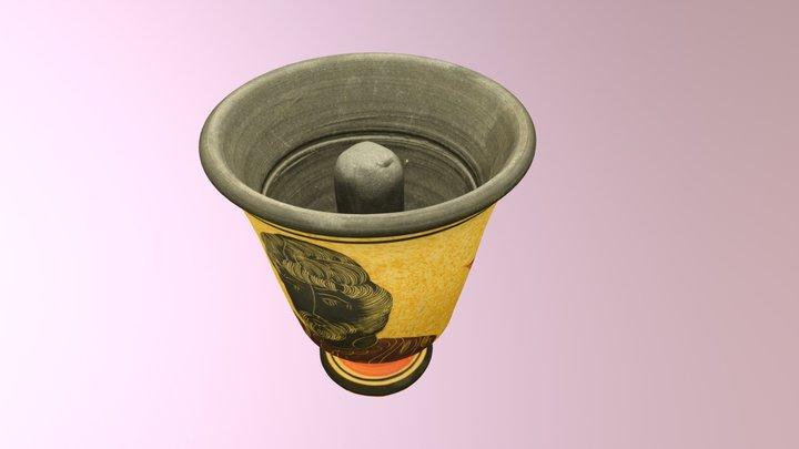 Pythagorean Cup replica 3D Model