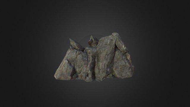 Cliff 01 3D Model