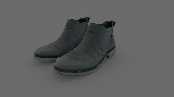 Elegant Men Shoes 3D Model