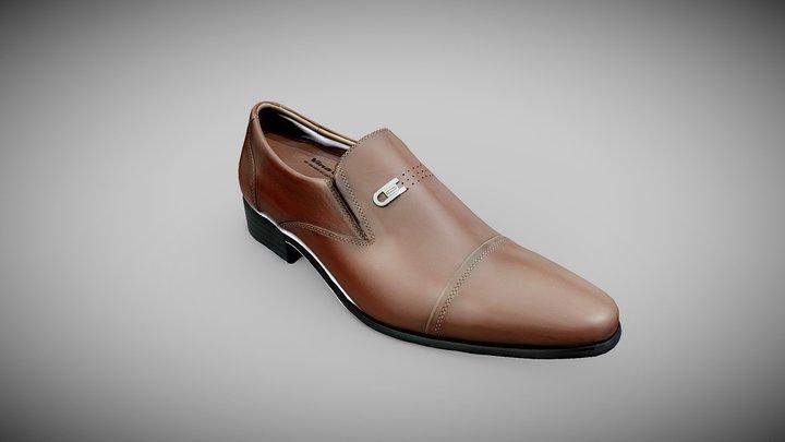 Scanned Model - Leather Shoe 3D Model