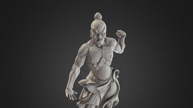 Temple guardian || Rijksmuseum Amsterdam 3D Model