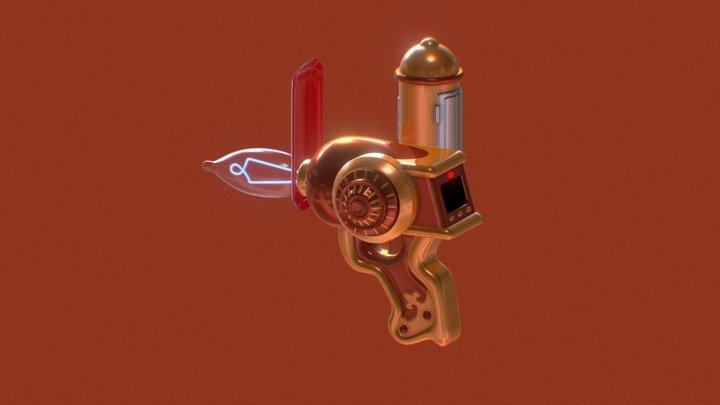 MEMORY GUN 3D Model