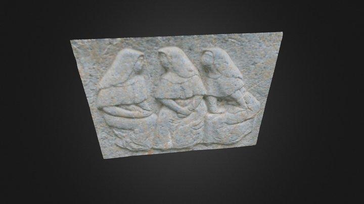 Decorative Anaglyph Zurich 3D Model