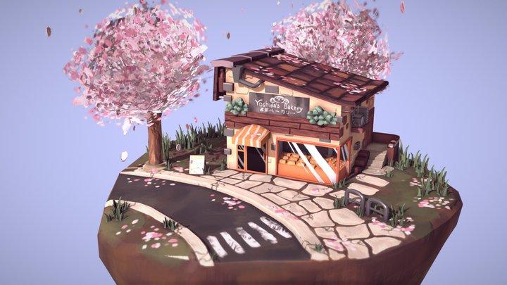 Little Bakery 3D Model