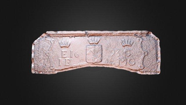 Kilchurn Castle Lintel 3D Model