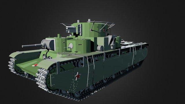 T-35 3D Model