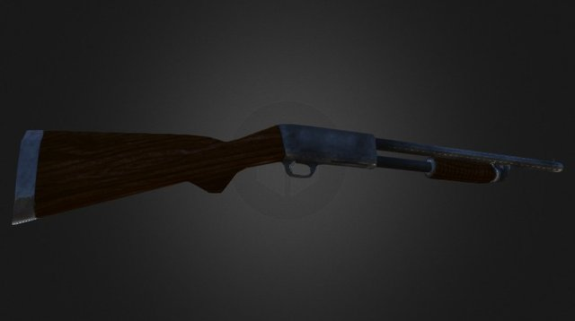 Ithaca 37 3D model 3D Model