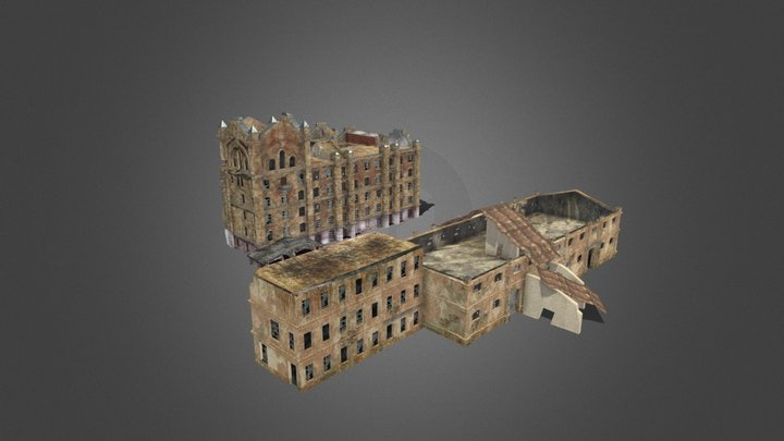Old_flour_mill 3D Model