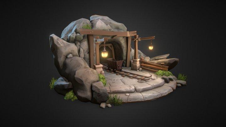 Old Mine 3D Model