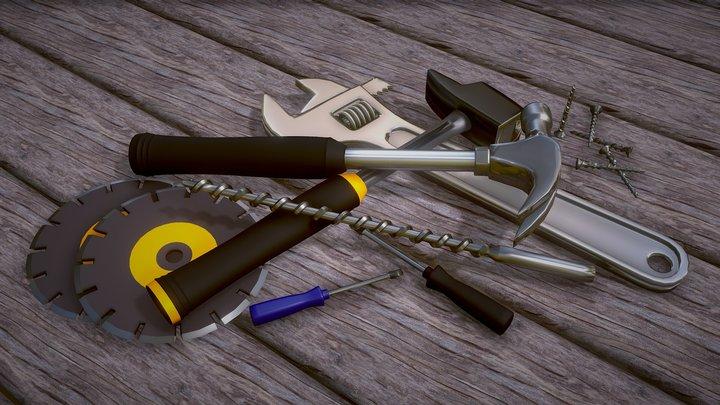 Tools 3D Model