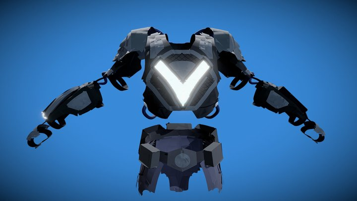 VRtist - The VR Arty Superhero (Costume) 3D Model