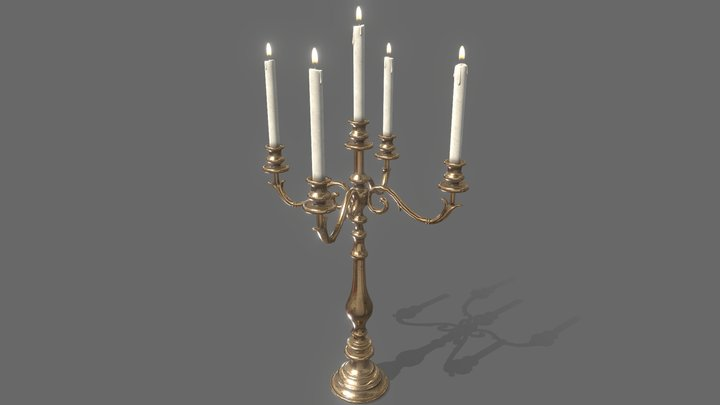 Candle Holder A 3D Model