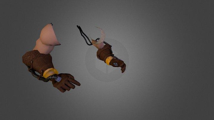 Momentum FP Hands 3D Model