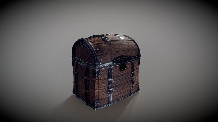 Mimic Treasure Chest (animated) 3D Model