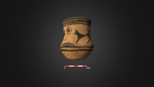 Decorated pottery of the Cucuteni culture 3D Model